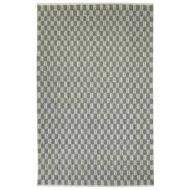 Kaleen Paracas Grey Indoor Handcrafted Inspirational Area Rug Common 8 X 10 Actual