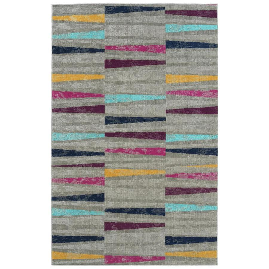 Kaleen Zuma Beach 5 X 7 Multi Indoor Outdoor Distressed Overdyed Mid Century Modern Area Rug In The Rugs Department At Lowes Com