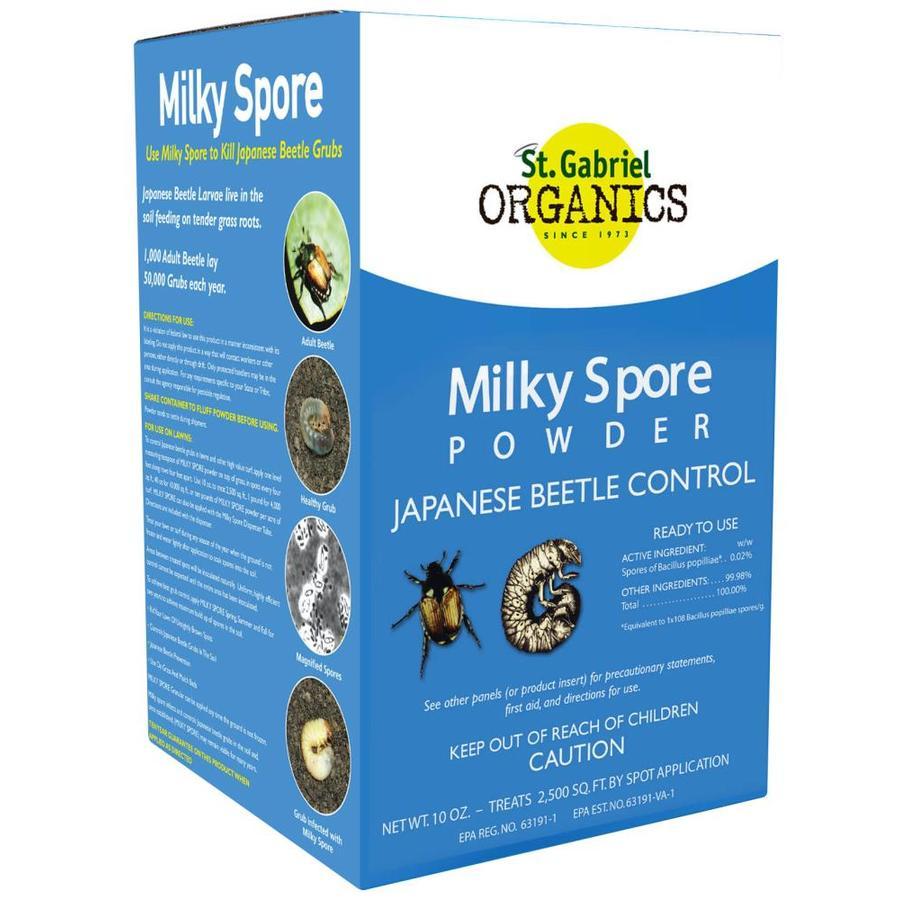 St. Gabriel Organics Milky Spore 10-oz Organic Grub Killer