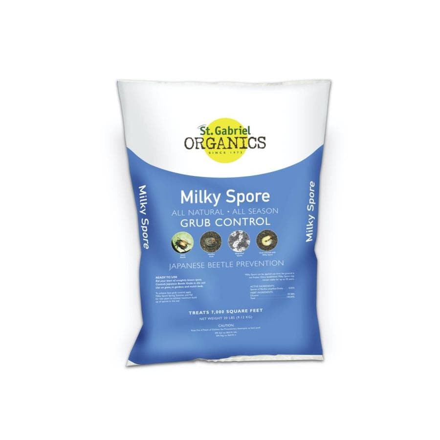 St. Gabriel Organics Milky Spore 20 Pound(S) Grub Killer