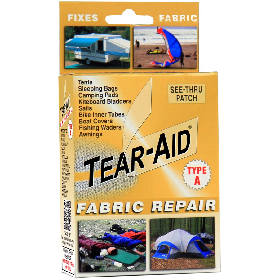 Shop TEAR-AID Fabric Repair Patch Extreme Bond at Lowes.com