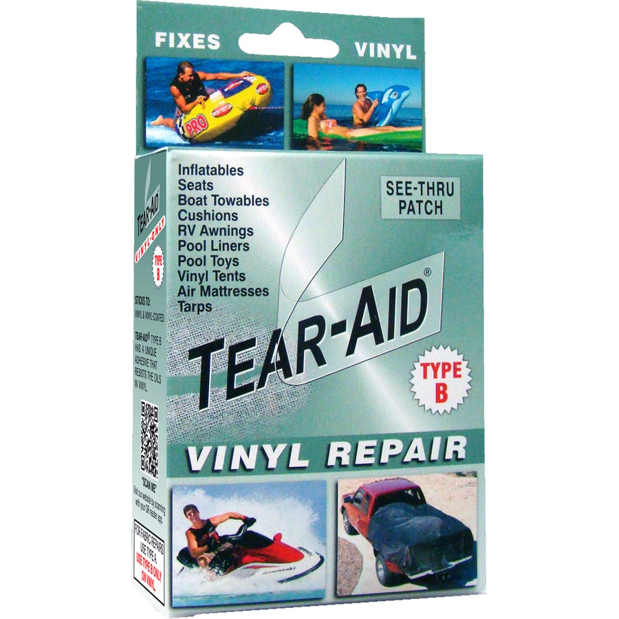 Tear Aid Vinyl Repair Patch Extreme Bond At Lowes Com