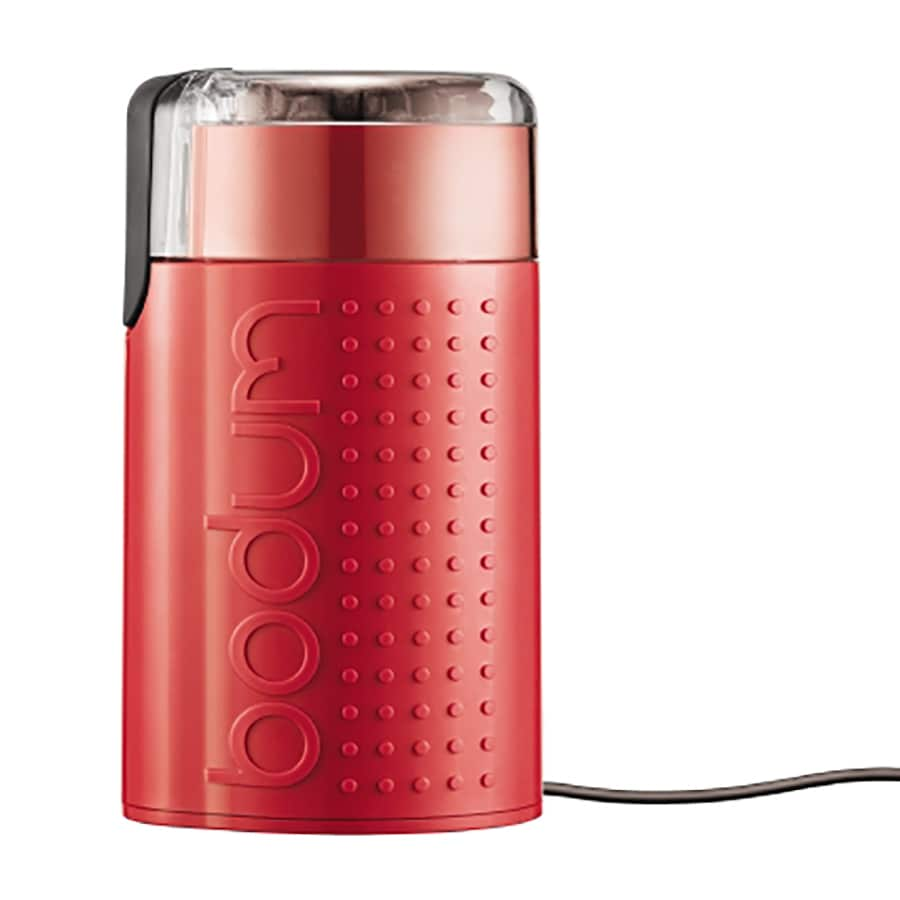 BODUM 3-oz Red Stainless Blade Coffee Grinder