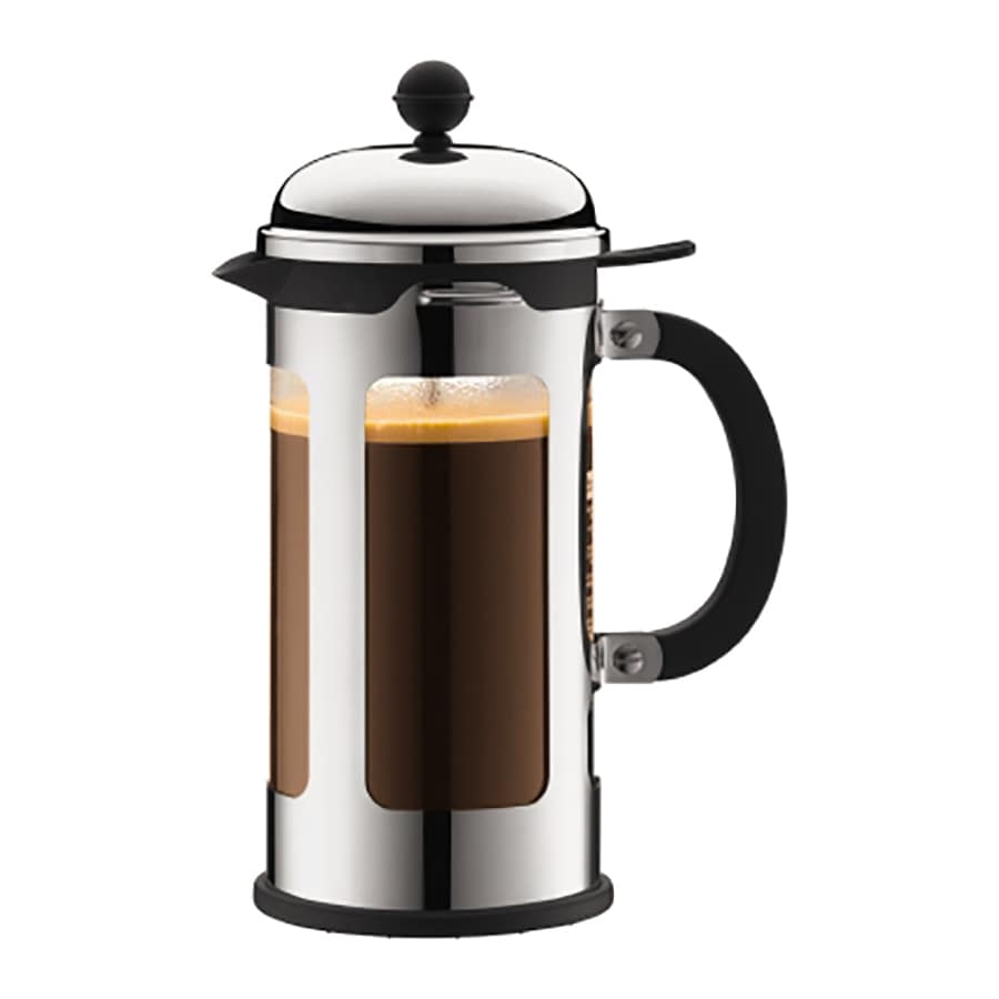 BODUM 8-Cup Chrome Coffee Maker