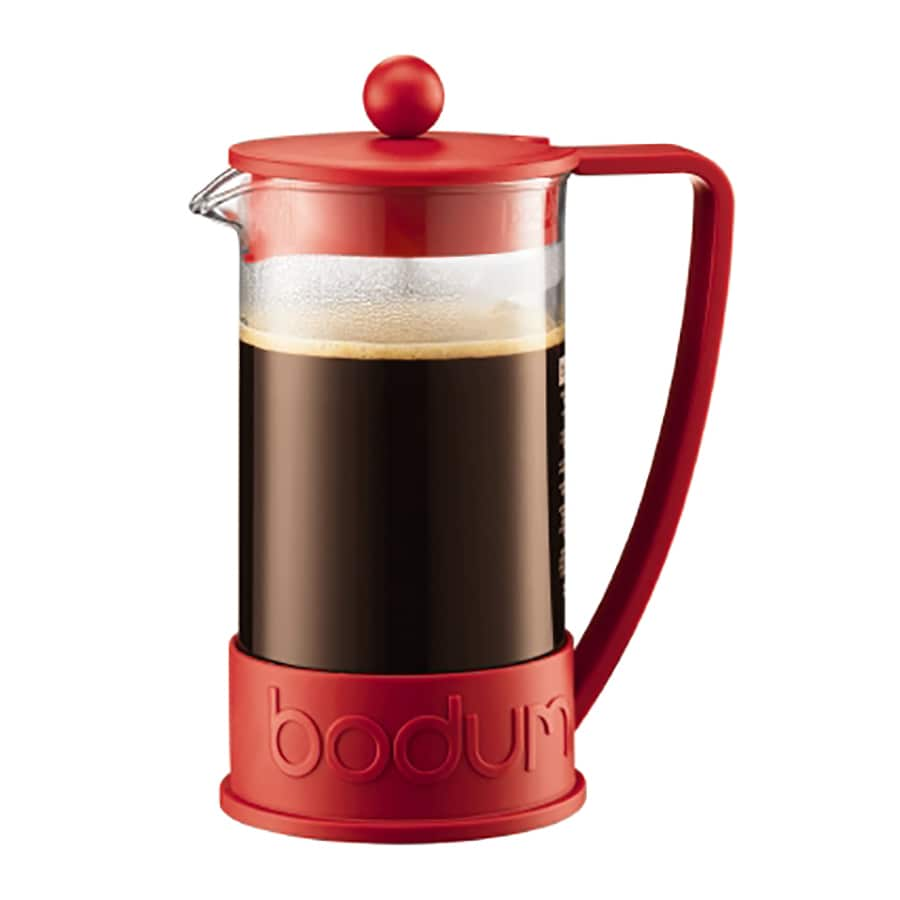 BODUM 8-Cup Red Coffee Maker