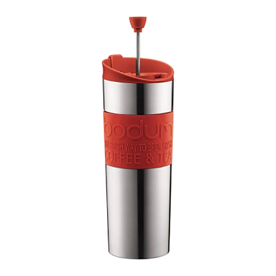 BODUM 2-Cup Red Coffee Maker