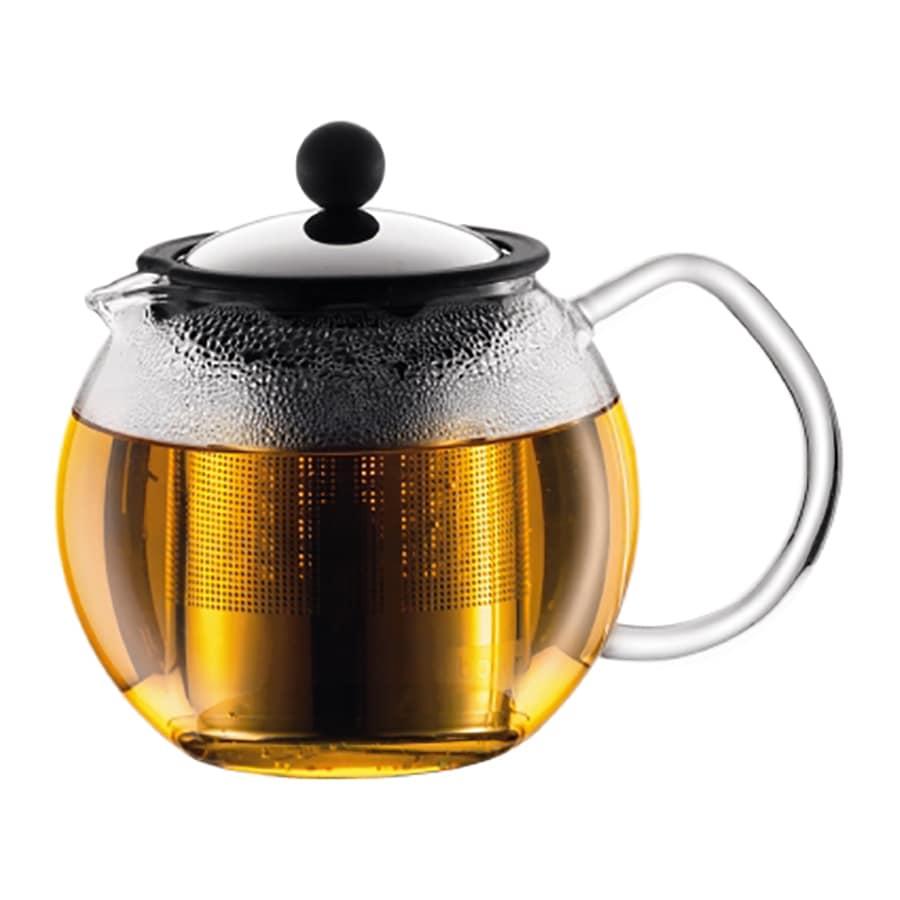 BODUM Chrome 2-Cup Tea Maker