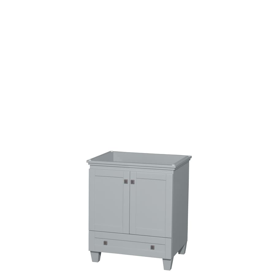 Wyndham Collection Acclaim Oyster Gray Bathroom Vanity (Common: 30-in x 22-in; Actual: 29-in x 21.5-in)
