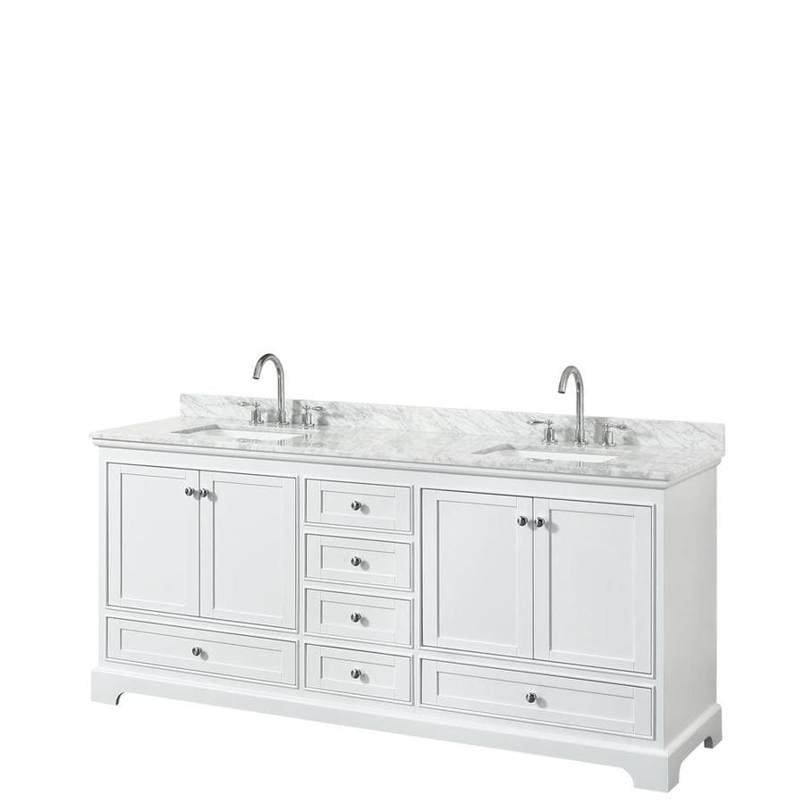 80 double sink bathroom vanity shop wyndham collection deborah white sink vanity 21883
