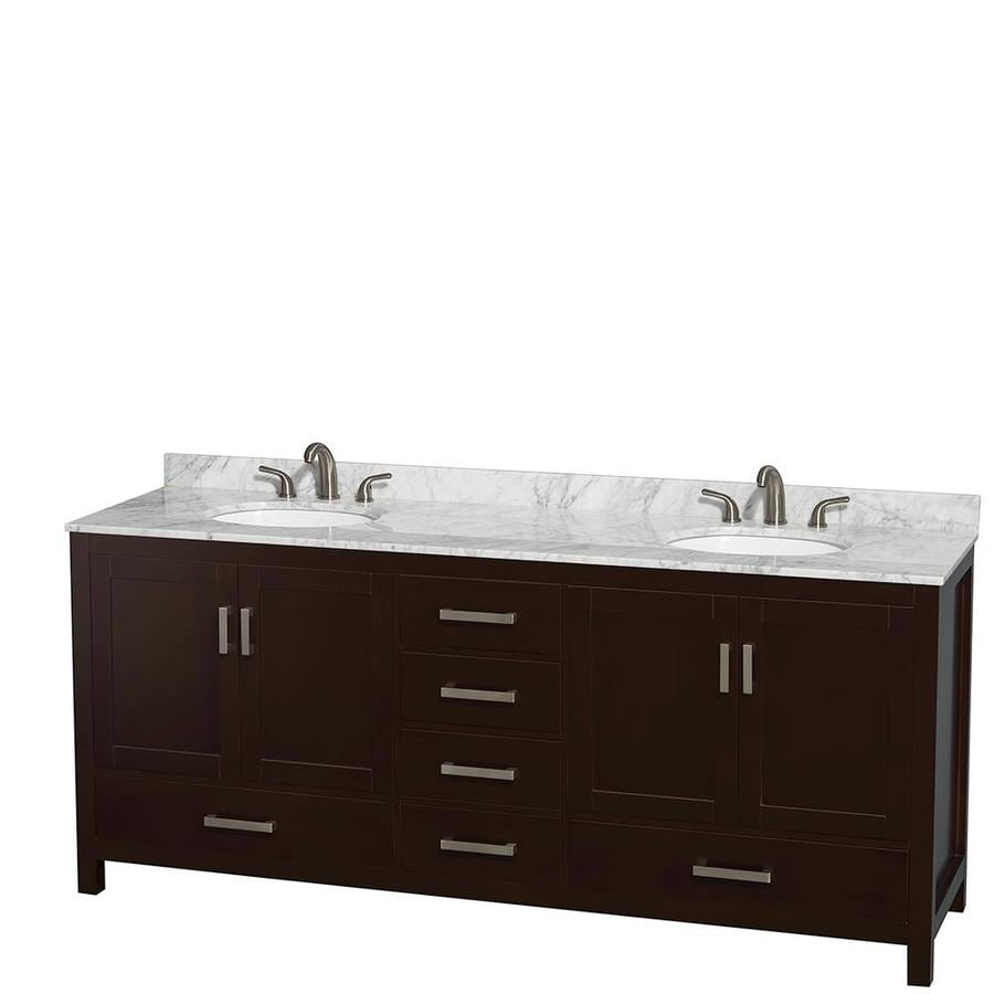 sgl free berkeley single wht white vanities by vanity bathroom modern collection shipping wc wyndham