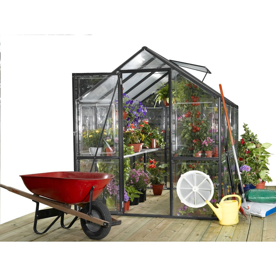 STC 8-ft L x 6-ft W x 7.2-ft H Greenhouse