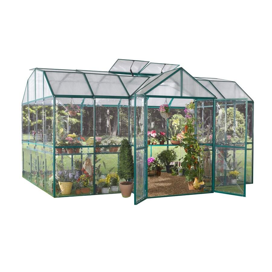 STC 10-ft L x 15-ft W x 9-ft H Metal Greenhouse