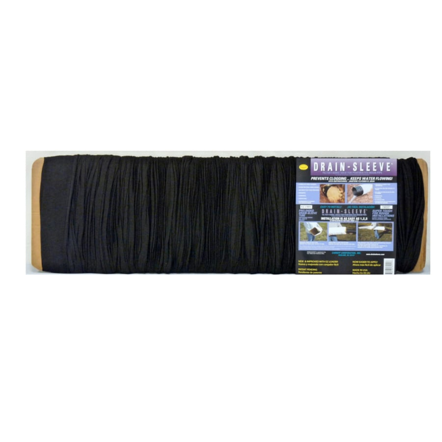 DRAIN-SLEEVE 100-ft 4-in Pipe Sock