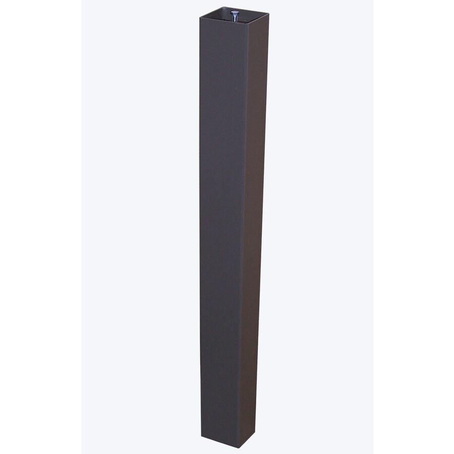 aluminum mailbox post. Gaines Manufacturing Bronze Aluminum Mailbox Post