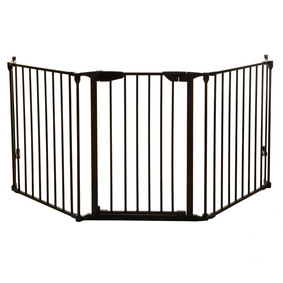 Dreambaby 79-in x 29.5-in Black Metal Child Safety Gate