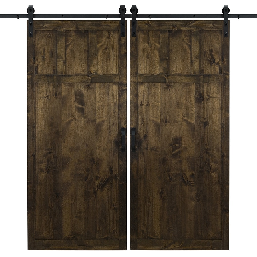 Dogberry Craftsman Dark Chocolate Stained 4 Panel Wood