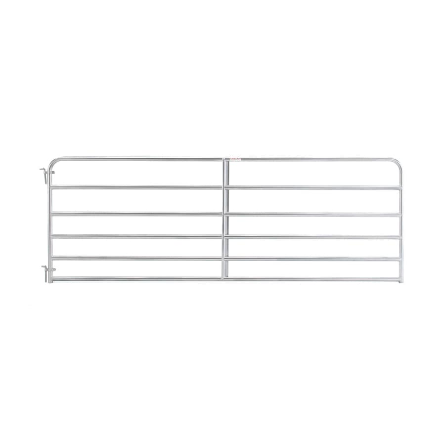 Tarter (Common: 4.16-ft x 10-ft; Actual: 4.16-ft x 9.75-ft) Galvanized Steel Farm Fence Gate