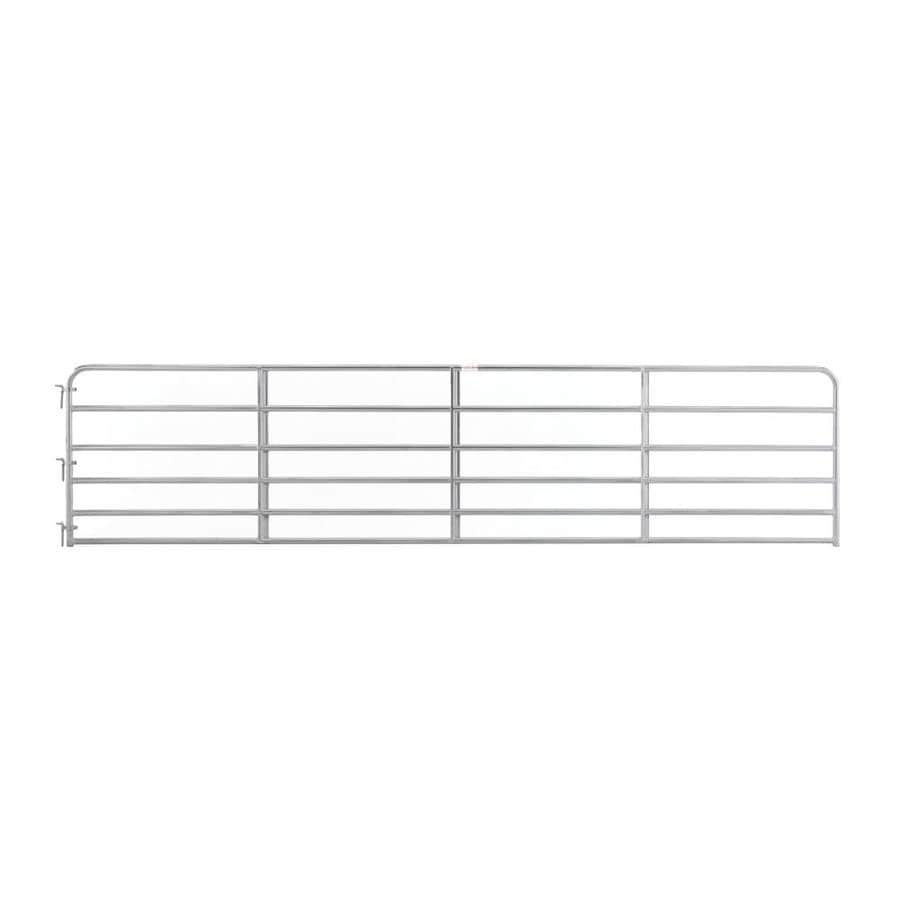 Tarter Galvanized Steel Farm Fence Gate (Common: 4.16-ft x 18-ft; Actual: 4.16-ft x 17.75-ft)