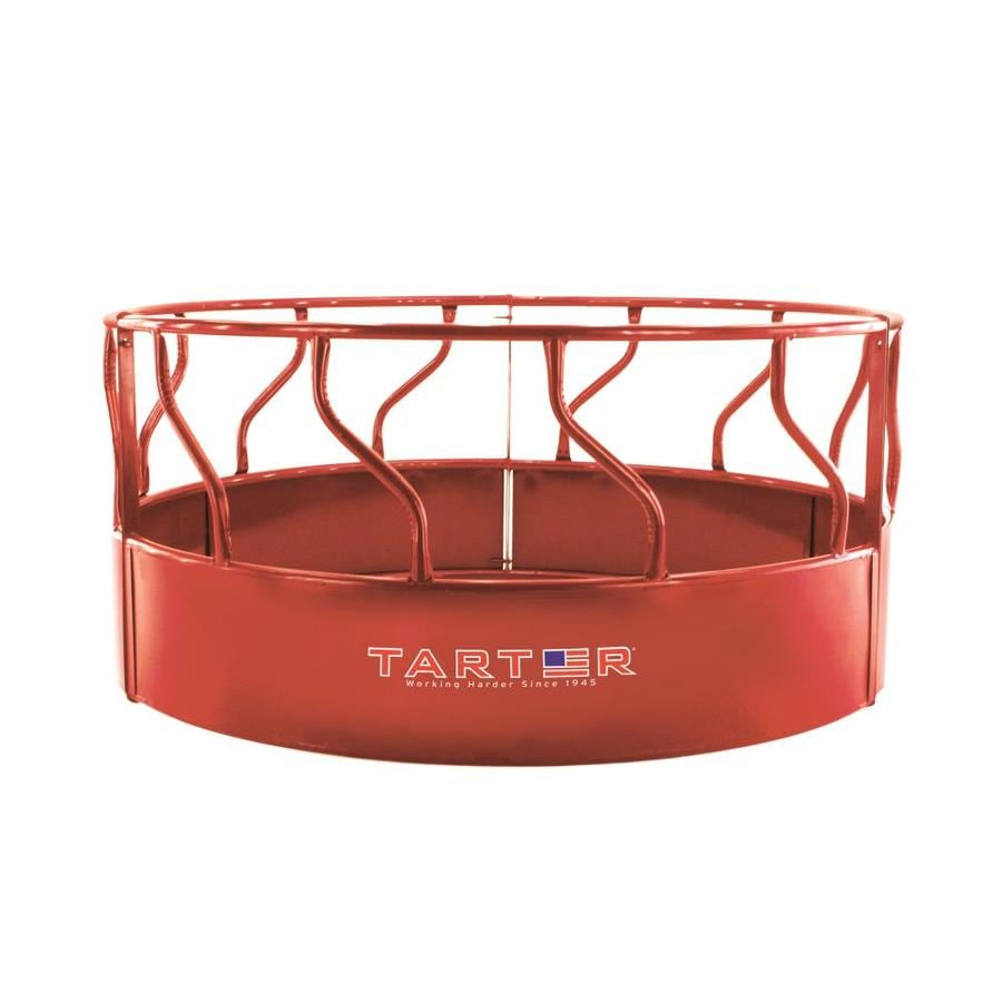 Tarter 3-Piece Red Bar Feeder With Metal Saver