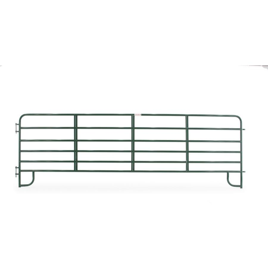 Tarter (Common: 5-ft x 16-ft; Actual: 5.167-ft x 16-ft) Powder Over E-Coat Steel Farm Fence Panel