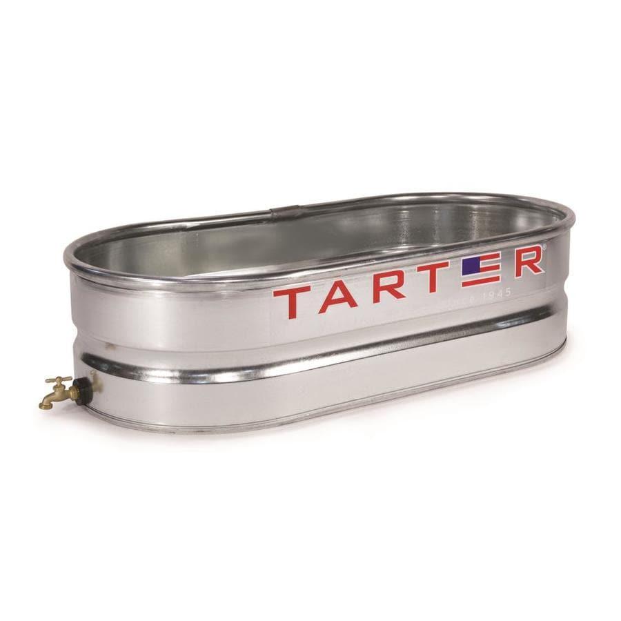 Shop Tarter 40-Gallon Galvanized Steel Stock Tank At Lowes.com