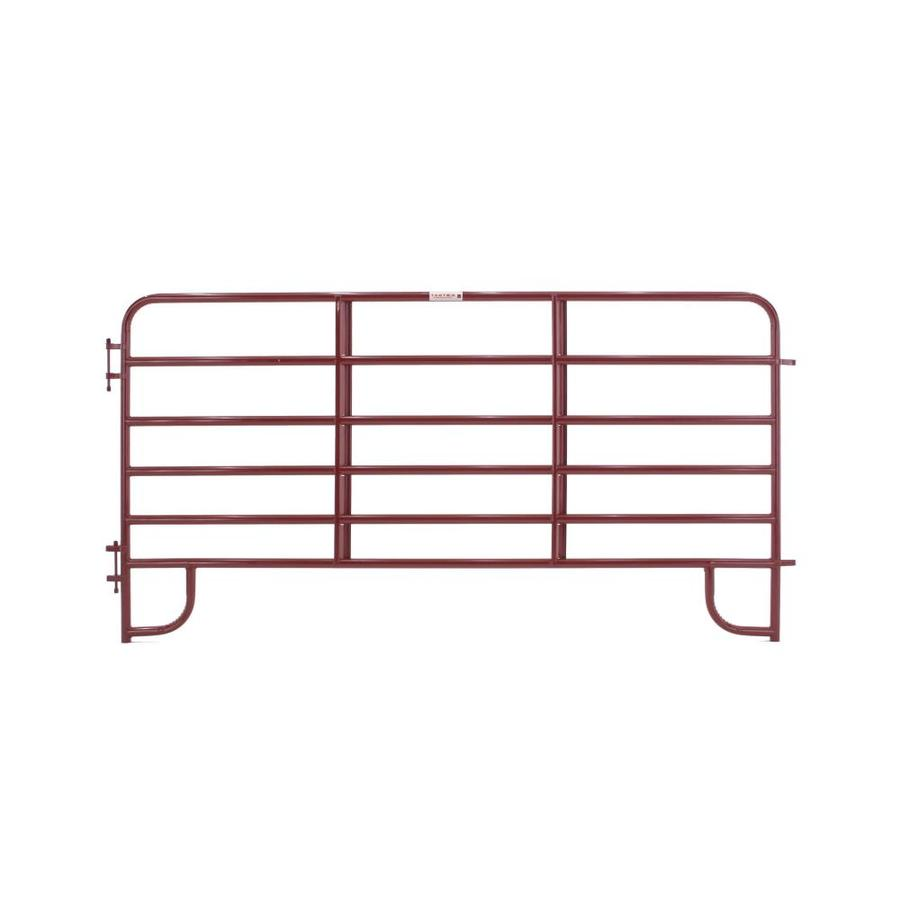 Tarter Steel-Painted Farm Fence Panel (Common: 5-ft x 10-ft; Actual: 5.166-ft x 10-ft)