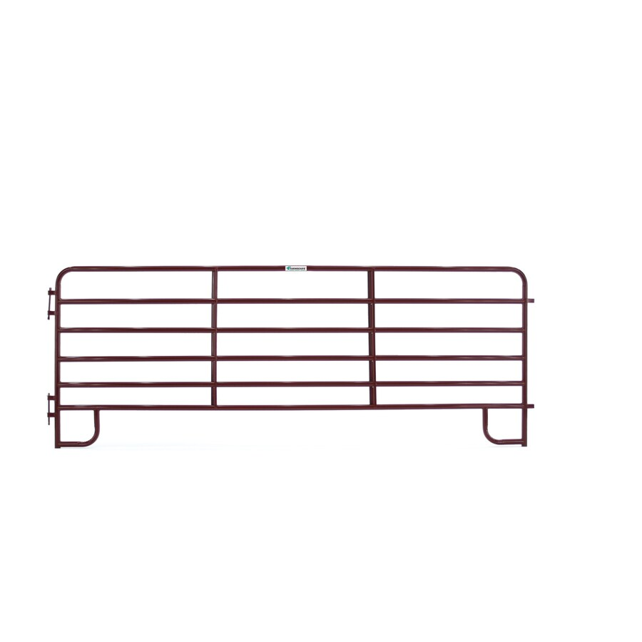 Tarter (Actual: 5.166-ft x 14-ft) Painted Steel Farm Fence Panel