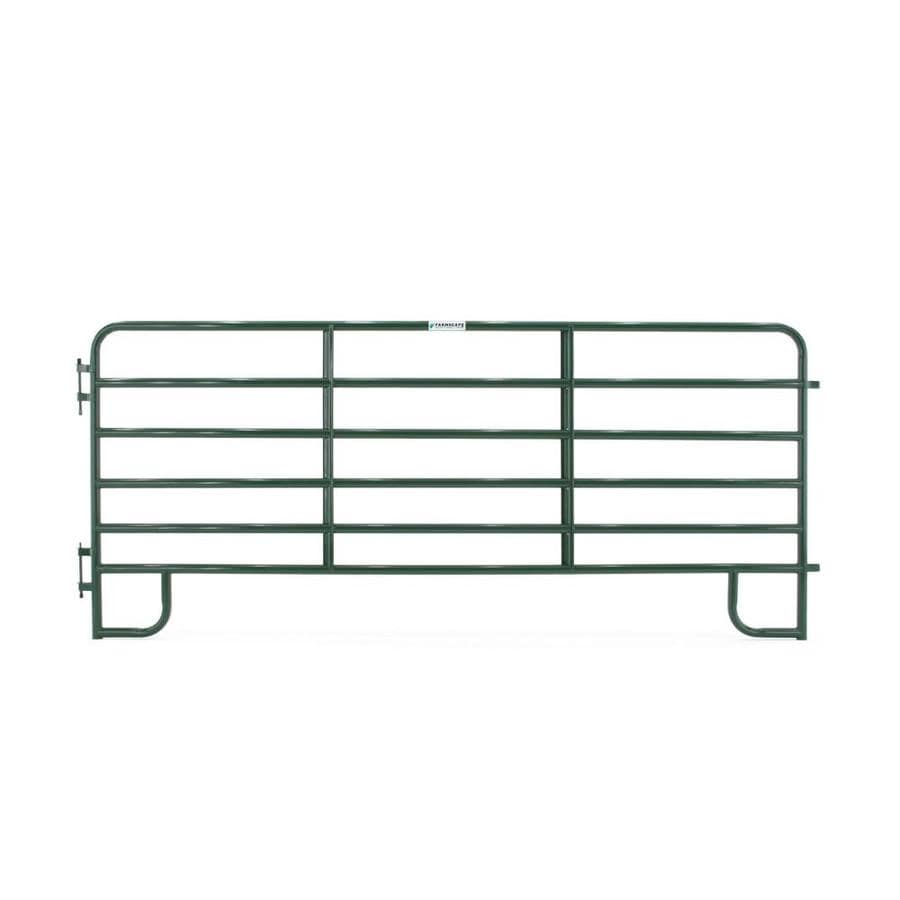 Tarter Steel-Painted Farm Fence Panel (Common: 5-ft x 12-ft; Actual: 5.166-ft x 12-ft)