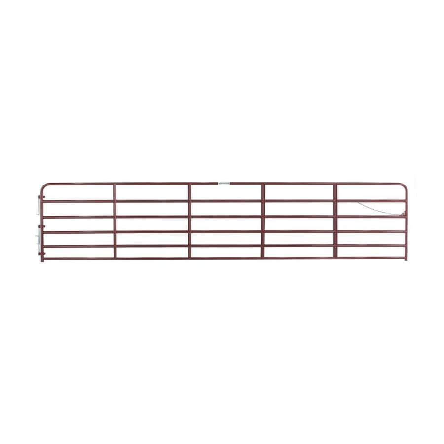 Tarter Red E-Coat Steel Farm Fence Gate (Common: 4.33-ft x 20-ft; Actual: 4.33-ft x 19.75-ft)