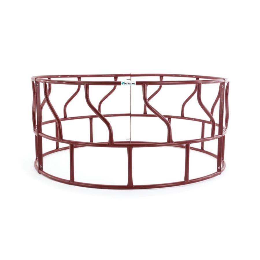 Tarter 3-Piece Red Round S Bar Hay Feeder