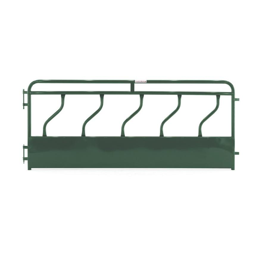 Tarter (Common: 4-ft x 10-ft; Actual: 4.166-ft x 10-ft) Painted Steel Farm Fence Panel