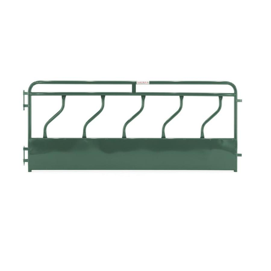 Tarter (Actual: 4.166-ft x 16-ft) Painted Steel Farm Fence Panel