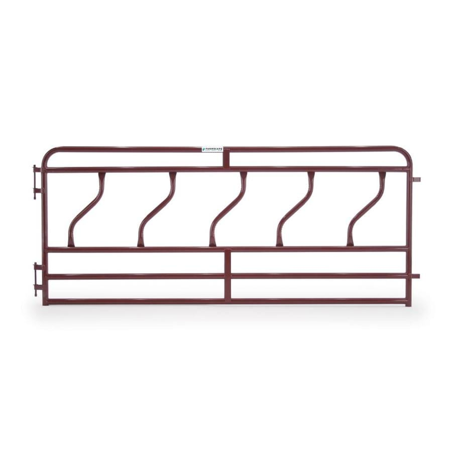 Tarter (Actual: 4.166-ft x 10-ft) Painted Steel Farm Fence Panel