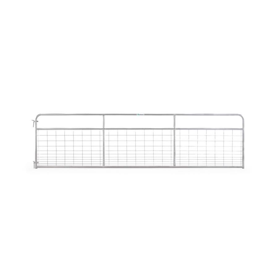 Tarter Galvanized Steel Farm Fence Gate (Common: 4.16-ft x 16-ft; Actual: 4.16-ft x 15.75-ft)