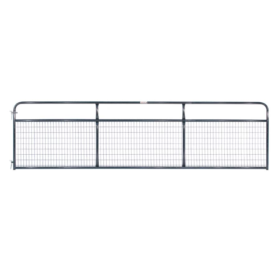 Tarter Blue E-Coat Steel Farm Fence Gate (Common: 4.16-ft x 16-ft; Actual: 4.16-ft x 15.75-ft)