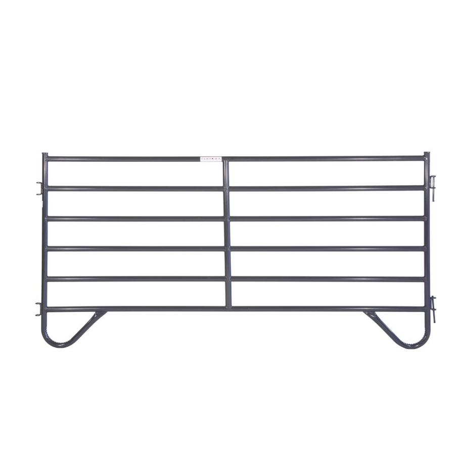 Tarter (Actual: 5-ft x 10-ft) Painted Steel Farm Fence Panel