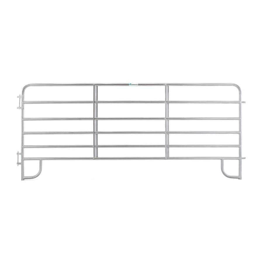 Tarter (Common: 5-ft x 12-ft; Actual: 5.166-ft x 12-ft) Steel Farm Fence Panel