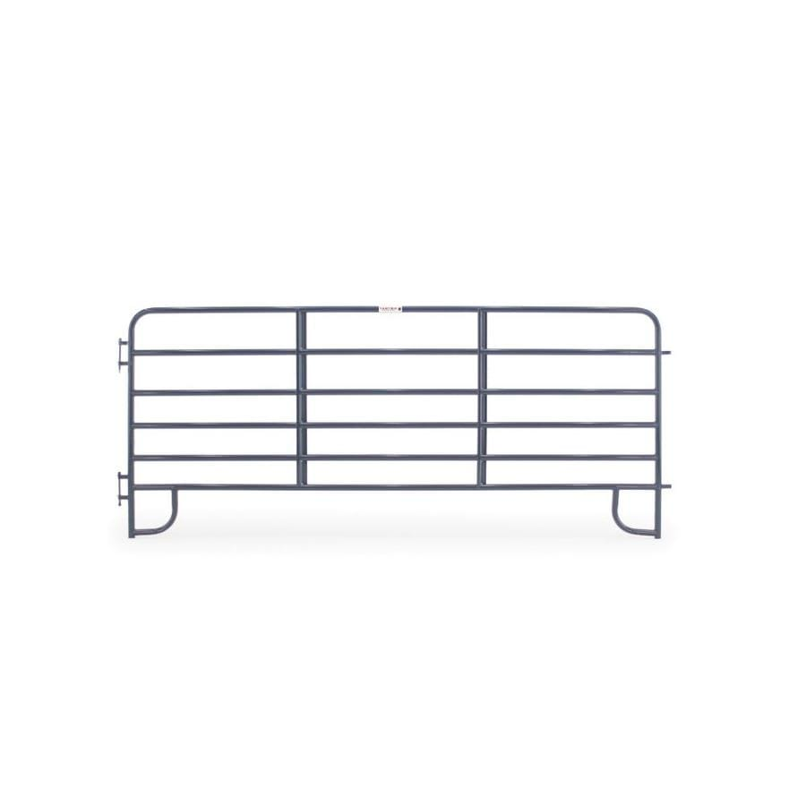 Tarter (Actual: 5.166-ft x 12-ft) Painted Steel Farm Fence Panel