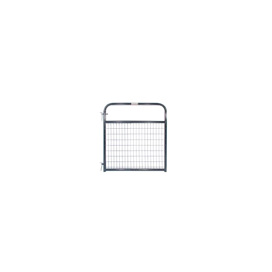 Tarter Blue E-Coat Steel Farm Fence Gate (Common: 4.16-ft x 4-ft; Actual: 4.16-ft x 3.75-ft)