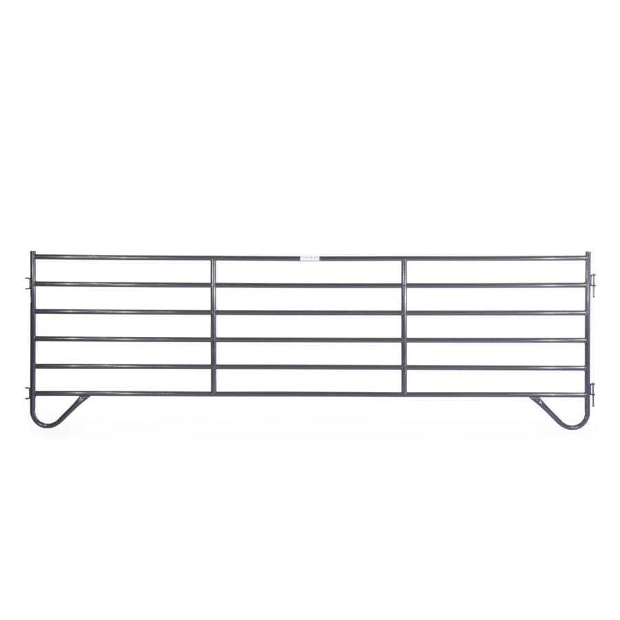 Tarter (Actual: 5-ft x 16-ft) Painted Steel Farm Fence Panel