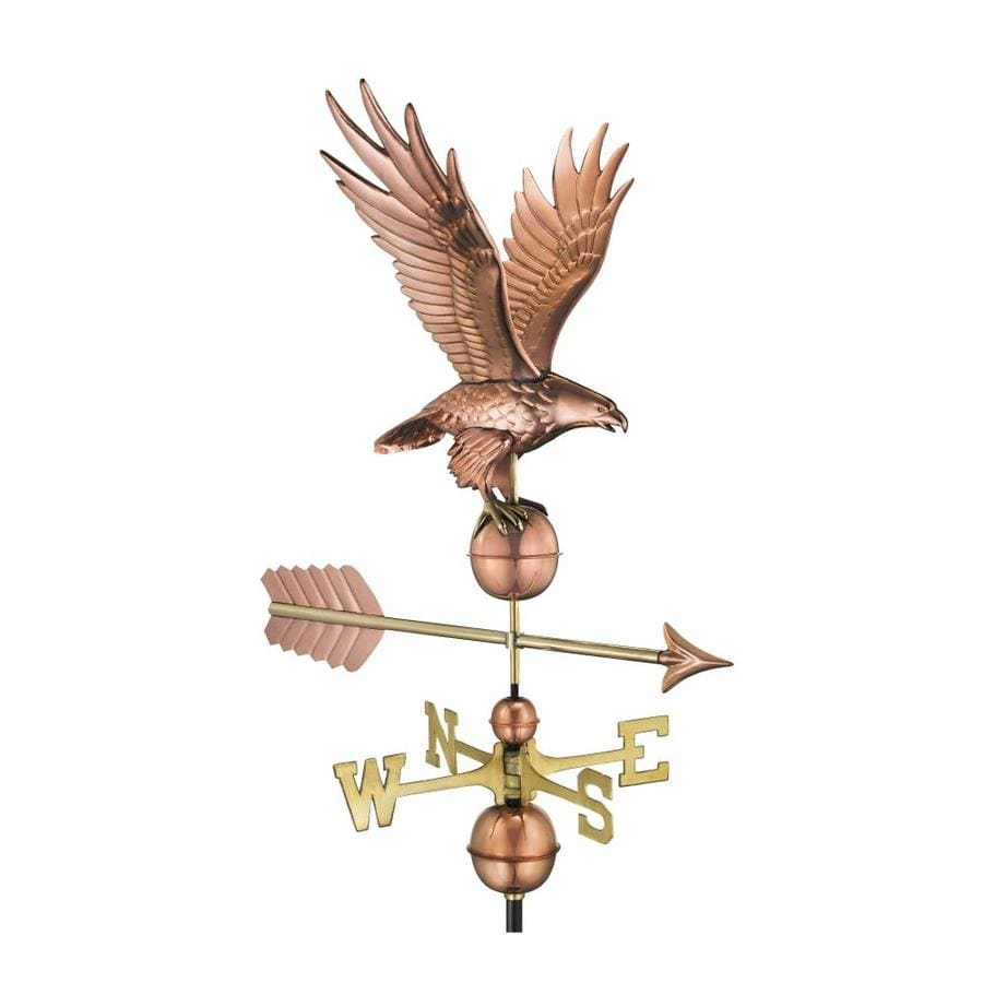 Good Directions Copper Roof-Mount Eagle Weathervane