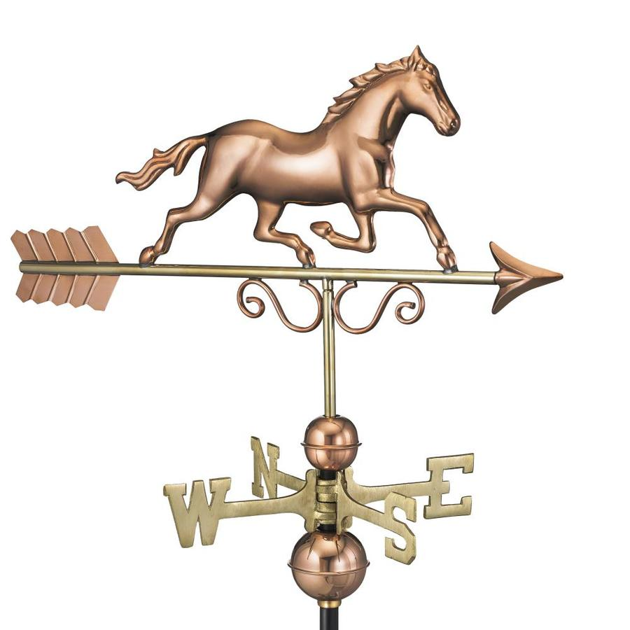 Good Directions Copper Roof-Mount Horse Weathervane