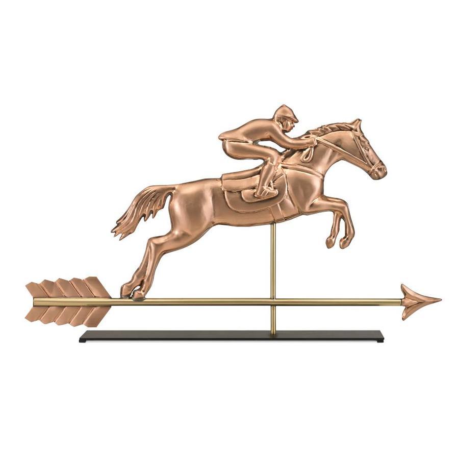 Good Directions Copper Freestanding Horse Weathervane