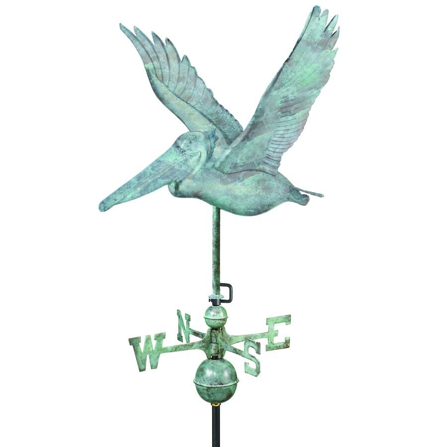 Good Directions Blue Verde Copper Pelican Weathervane