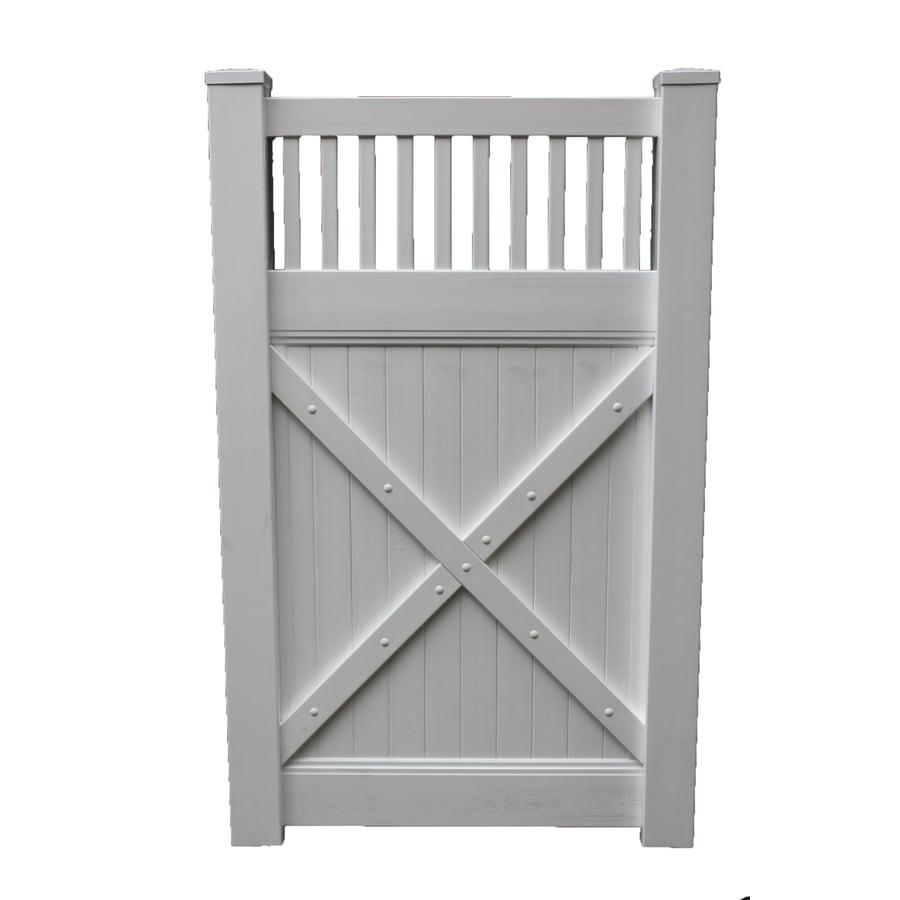 Shop boundary ft white privacy walk vinyl fence