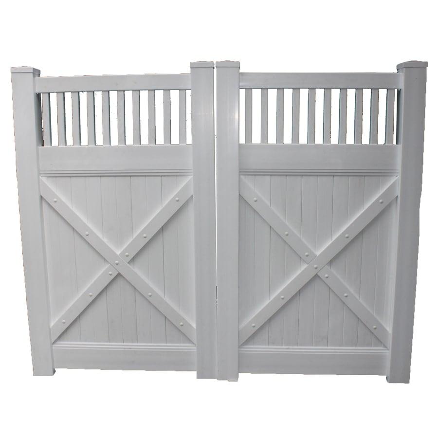 Shop boundary ft white privacy drive vinyl fence