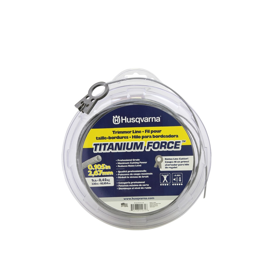 Husqvarna 230-ft Spool 0.105-in Pre-Cut Trimmer Line
