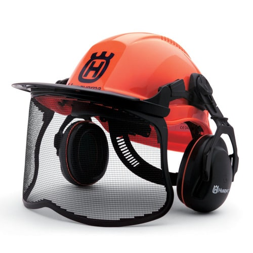 Protect Your Head With a Forester Safety Helmet Husqvarna Chain Saw Owners
