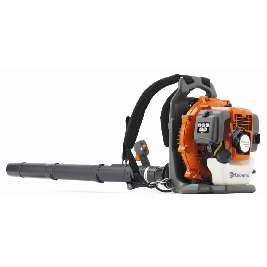 Husqvarna 130BT 29.5cc 2-Cycle 145-MPH 431-CFM Medium-Duty Gas Backpack Leaf Blower