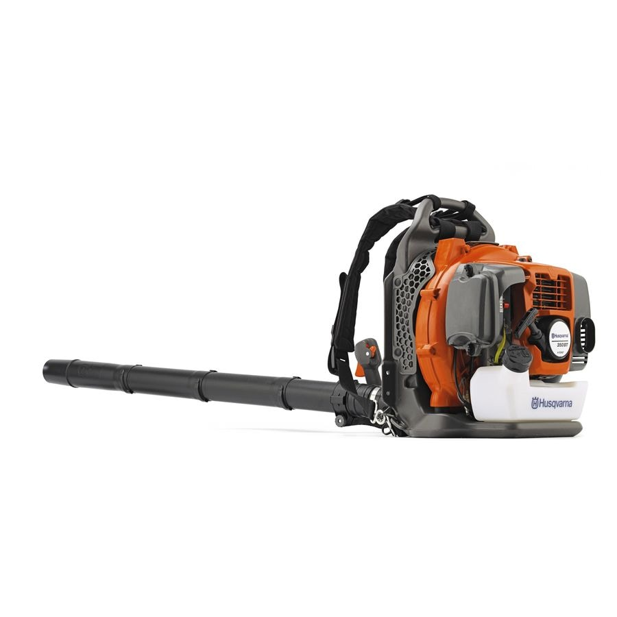 Husqvarna 350Bt 50.2cc 2-Cycle 180 Mph 692 Cfm Heavy-Duty Gas Backpack Leaf Blower